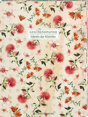 Die Gärten der Künstler Geschenkpapier-Heft Motiv Dahlie
