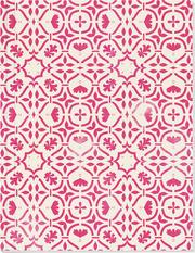 Der Zauber Indiens Großes Notizheft (A5) Motiv Rosa Kaleidoskop