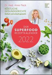 Der Superfood-Rezeptkalender 2022 - Cover