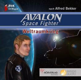 Hörspiel zu Avalon Space Fighter - Weltraumkrieg - Cover