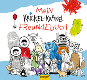 Mein Krickel-Krakel Freundebuch - Cover