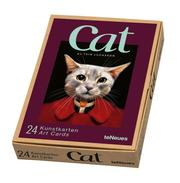 Cat, Kunstkartenbox