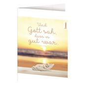 Geburts-Karte 'Und Gott sah, dass es gut war' - Cover