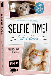 Selfie Time! Cat Edition - 30 Fun-Fotokarten