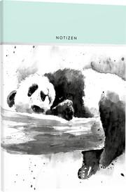 Blanko Notizbuch 'Pets & Plants' 05