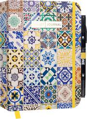 Bullet Journal 'Ornamental Marokko' mit original Tombow TwinTone Dual-Tip Marker 33 black