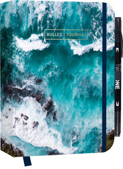 Bullet Journal 'Sound of the Sea' mit original Tombow TwinTone Dual-Tip Marker 33 black