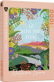Feel-good-Puzzle 1000 Teile -NATURE LOVE: Go with the flow