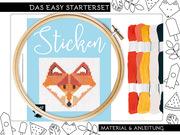 Sticken - das Easy Starterset für dekorative Kreuzstichmotive