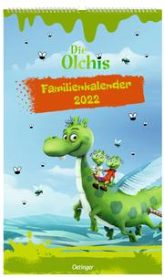 Die Olchis Familienkalender Unser olchiges Jahr 2022