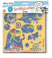 Krickel-Krakel Schablonen