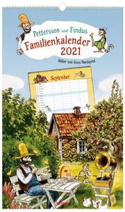 Pettersson und Findus Familienkalender 2021