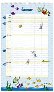 Die Olchis Unser Familienkalender 2021