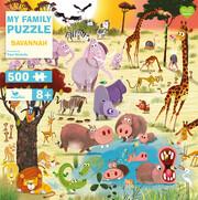 My Family Puzzle - Savannah