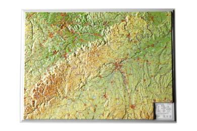 Relief Schwäbische Alb, klein - Cover