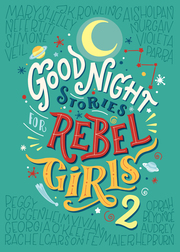 Good Night Stories for Rebel Girls 2 - Cover