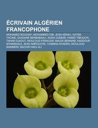 Écrivain algérien francophone