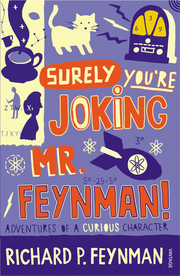 Surely You're Joking Mr Feynman - Cover