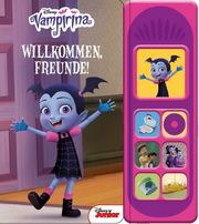 Vampirina- Disney - Willkommen Freunde -Soundbuch - Pappbilderbuch mit 7 coolen Geräuschen für Kinder ab 3 Jahren