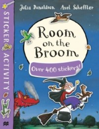 Room on the Broom Sticker Activity