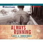 Always Running - La Vida Loca: Gang Days in L.A. (Unabridged) - Cover