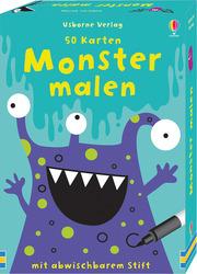 Monster malen - Cover