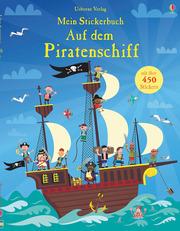 Mein Stickerbuch: Auf dem Piratenschiff - Cover