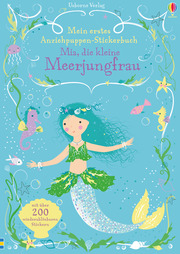 Mein erstes Anziehpuppen-Stickerbuch - Mia, die kleine Meerjungfrau - Cover