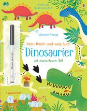 Mein Wisch-und-weg-Buch: Dinosaurier - Cover