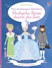 Mein Anziehpuppen-Stickerbuch: Modische Reise durch die Zeit - Cover