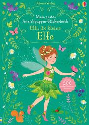 Mein erstes Anziehpuppen-Stickerbuch - Elli, die kleine Elfe - Cover