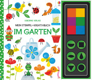 Mein Stempel-Kreativbuch: Im Garten - Cover
