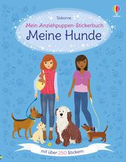 Mein Anziehpuppen-Stickerbuch: Meine Hunde - Cover