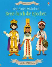 Mein Anzieh-Stickerbuch: Reise durch die Epochen