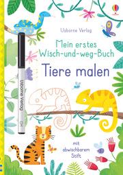 Mein erstes Wisch-und-weg-Buch: Tiere malen - Cover