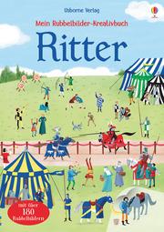 Mein Rubbelbilder-Kreativbuch: Ritter - Cover