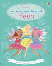 Mein Anziehpuppen-Stickerbuch: Feen - Cover