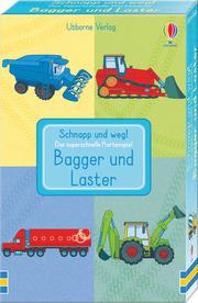 Schnapp und weg! Das superschnelle Kartenspiel: Bagger und Laster
