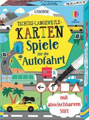 Tschüss-Langeweile-Karten: Spiele für die Autofahrt