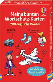Meine bunten Wortschatz-Karten - 200 englische Wörter