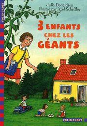 Trois enfants chez les géants