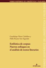 Estilística de corpus: nuevos enfoques en el análisis de textos literario