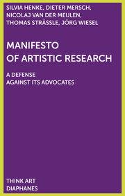 Manifest der künstlerischen Forschung
