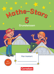 Mathe-Stars - Grundwissen - Cover