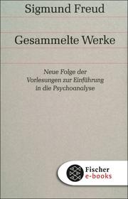 Neue Folge der Vorlesungen zur Einführung in die Psychoanalyse - Cover