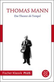 Das Theater als Tempel - Cover