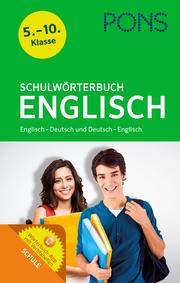 PONS Schulwörterbuch Englisch - Cover