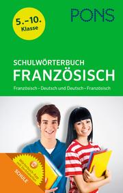 PONS Schulwörterbuch Französisch - Cover