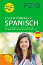 Spanisch-Deutsch, Deutsch-Spanisch mit dem Wortschatz aller aktuellen Schulbücher und Wörterbuch-App, 22,99€