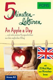 PONS 5-Minuten-Lektüren Englisch A2 - An Apple a Day - Cover